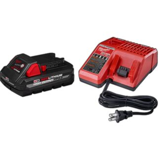 Milwaukee 48-59-1835 M18 REDLITHIUM HIGH OUTPUT CP3.0 Starter Kit