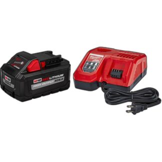 Milwaukee 48-59-1880 M18 REDLITHIUM HIGH OUTPUT XC8.0 Starter Kit