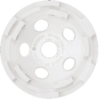 "Bosch DC510 5"" Double Row Segmented Diamond Cup Wheel for Concrete"