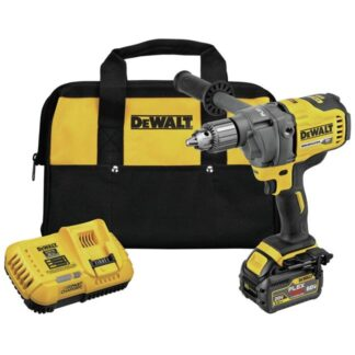 DeWalt DCD130T1 60V MAX Mixer Drill Kit With E-Clutch System