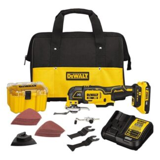 DeWalt DCS356D1 20V MAX XR Brushless Oscillating Multi Tool Kit