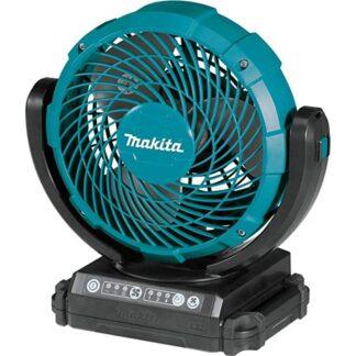 Makita DCF102Z 18V or Electric Jobsite Swing Fan