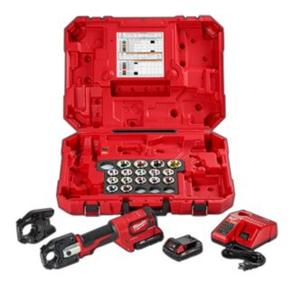 Milwaukee 2679-750A M18 FORCE LOGIC 600 MCM Cu Crimper Kit with 750 MCM Expanded Jaw