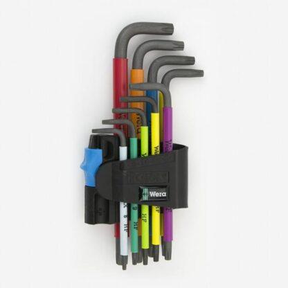 Wera 024179 Multicolor Torx HF L-key Clip Set