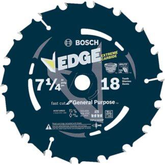 "Bosch DCB718B25 25PC 7-1/4"" 18T Edge Portable Saw Blades Fast Cut"