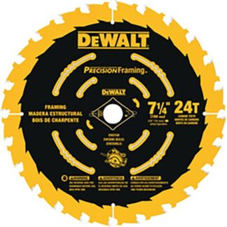 "DeWalt DW3199 7-1/4"" 24T Precision Framing Saw Blade"
