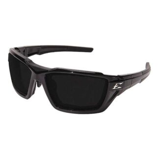 Edge THT416AFG Steel Polarized Black Glasses