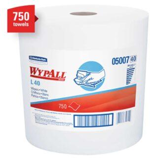 """Kimberly Clark 05007 WYPALL L40 Towels 12.5""""x13.4"""""""
