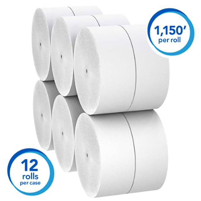 Kimberly Clark 01005 Scott Essential High Capacity Hard Roll Towel 8
