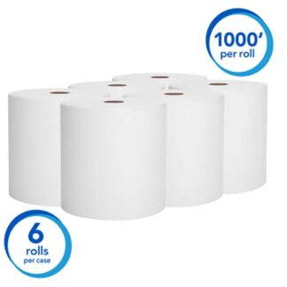 "Kimberly Clark 01005 Scott Essential High Capacity Hard Roll Towel 8""x1000'"