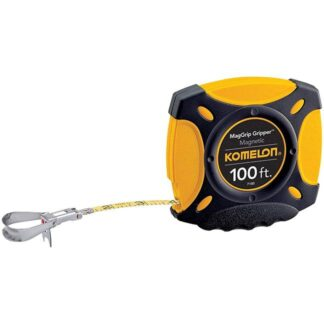 Komelon 7100 MagGrip Gripper Measuring Tape with Magnetic End 100ft