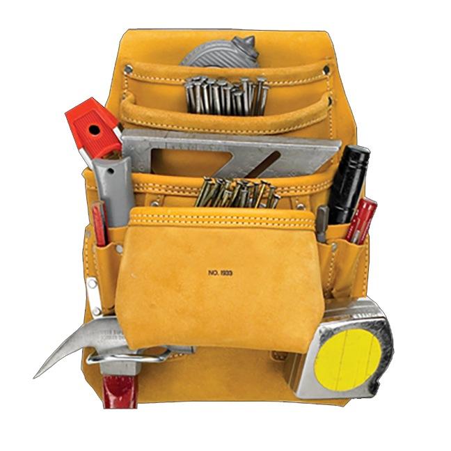 Kuny's API933 10 Pocket Carpenter's Nail & Tool Bag