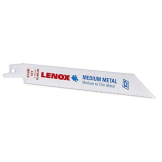 "Lenox 20529 Bi-Metal Reciprocating Saw Blade 6"" 18TPI 25PK"