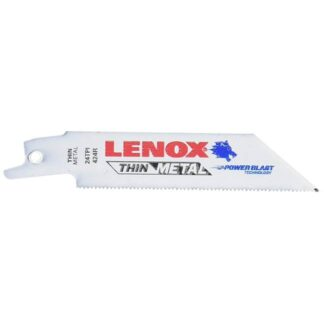 "Lenox 20554 Bi-Metal Reciprocating Saw Blade 4"" 24TPI 5PK"