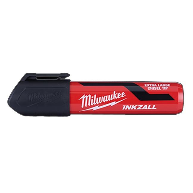Milwaukee 48-22-3260 INKZALL Extra Large Chisel Tip Marker Black