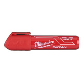 Milwaukee 48-22-3266 INKZALL Extra Large Chisel Tip Marker Red