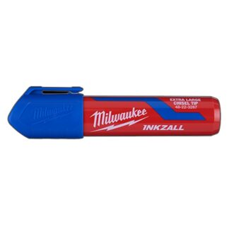 Milwaukee 48-22-3267 INKZALL Extra Large Chisel Tip Marker Blue