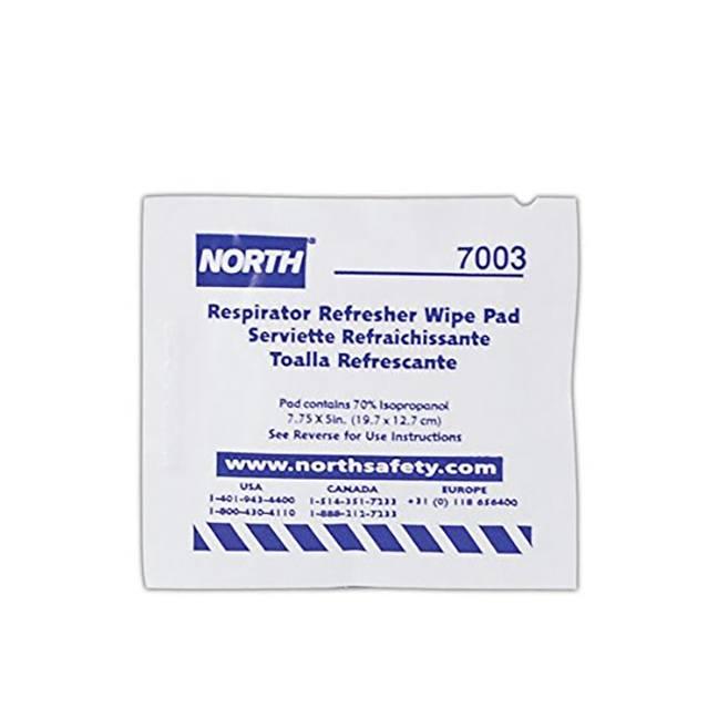 North 7003-H5 N7003 Respirator Refresher Wipe Pads