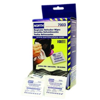 North 7003A Respirator Refresher Wipes