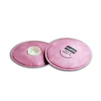 North 75FFP100 Pancake Respirator Filter