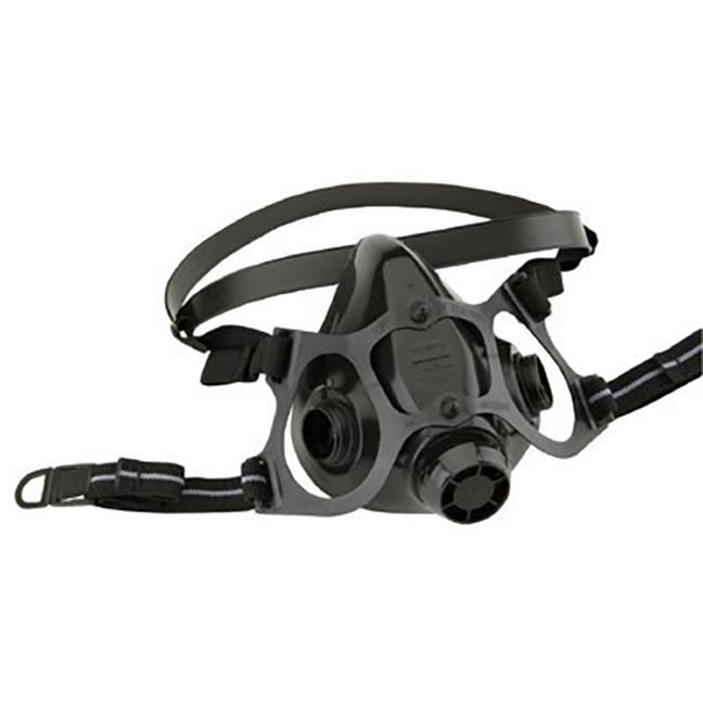 North 770030L 7700 Series Silicone Half Mask Respirator Large
