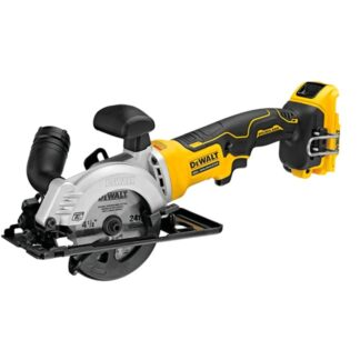 "DeWalt DCS571B Atomic 20V Max Brushless Compact 4-1/2"" Circular Saw"