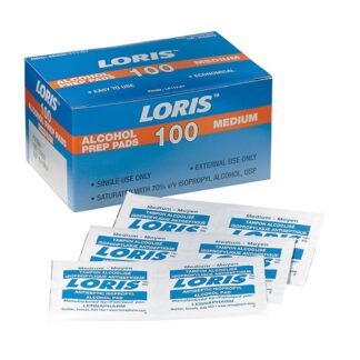 Dynamic Safety FAAW100 Alcohol Wipes 100 per box