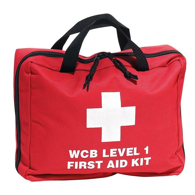 Dynamic Safety FAKBC1BN British-Columbia First Aid Kit Level 1