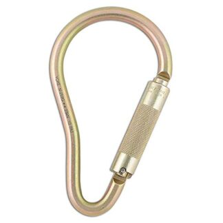 Dynamic Safety FP714 Alloy Steel Pear Shape Carabiner Connector