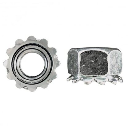 Keps Lock-Nut Zinc Plated