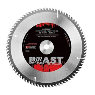 "Lackmond WCB12100 12"" Beast Crosscut Saw Blade"