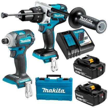 Makita DLX2308T 18V 5.0Ah Brushless 2PC Combo Kit