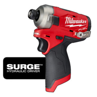 "Milwaukee 2551-20 M12 FUEL SURGE 1/4"" Hex Hydraulic Driver - Tool Only"