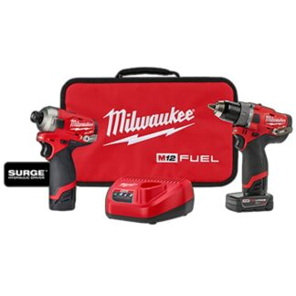 Milwaukee 2582-22 M12 FUEL SURGE HDD 2-PC Combo Kit