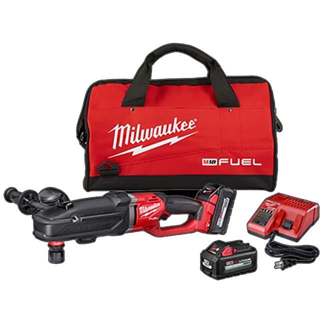 Milwaukee 2811-22 M18 FUEL SUPER HAWG Right Angle Drill with QUIK-LOK Kit