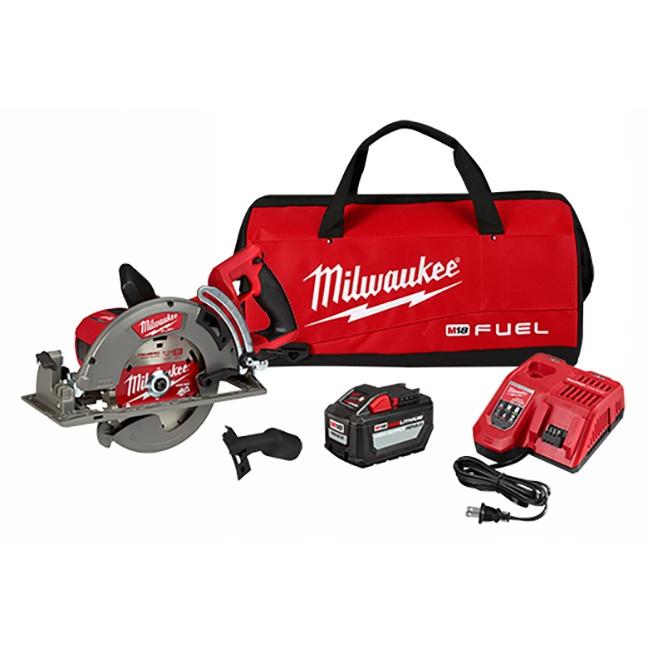 "Milwaukee 2830-21HD M18 FUEL Rear Handle 7-1/4"" Circular Saw Kit"