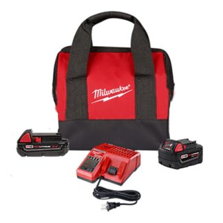 Milwaukee 48-59-1850SPC M18 REDLITHIUM 2Ah & 5Ah Battery Starter Kit