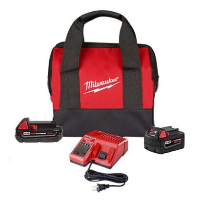 Milwaukee 48-59-1850SPC M18 REDLITHIUM 2Ah & 5Ah Battery Starter Kit