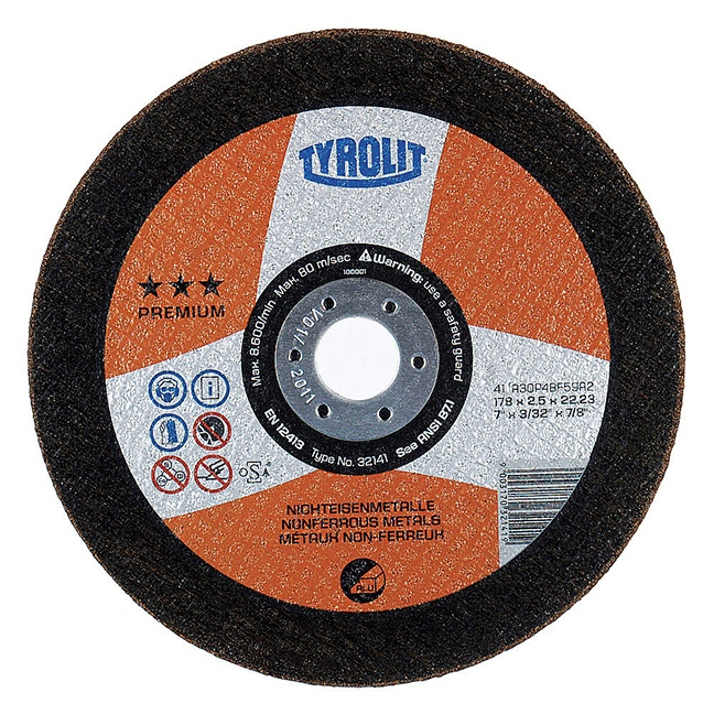 Tyrolit 170542 5X.045X7/8 Cutoff Wheel