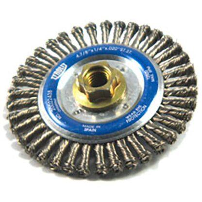"Tyrolit 20022438 4-7/8"" Wire Wheel Brush"