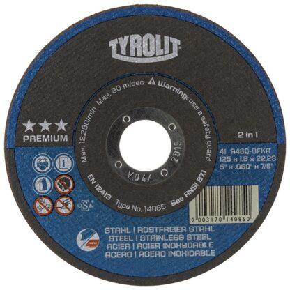 "Tyrolit 238988 5"" Cutting Disc"
