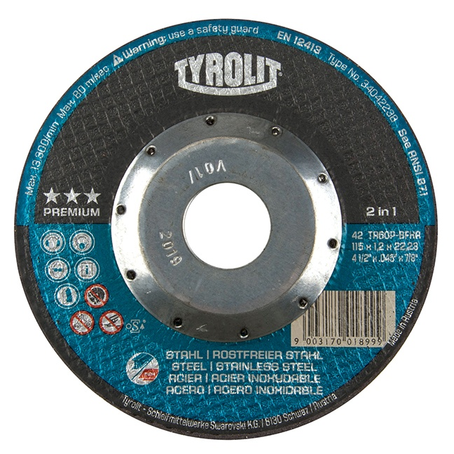 "Tyrolit 34042240 6"" Cutoff Wheel"