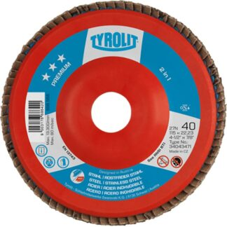 "Tyrolit 34043476 5"" Flap Disc Wheel"