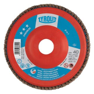 "Tyrolit 34043480 6"" Flap Disc Wheel"