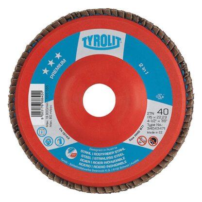 "Tyrolit 34043480 6"" Flap Disc Wheel"