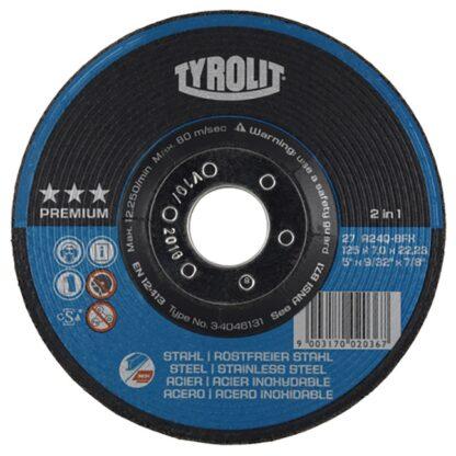 "Tyrolit 34046132 6"" Grinding Wheel"