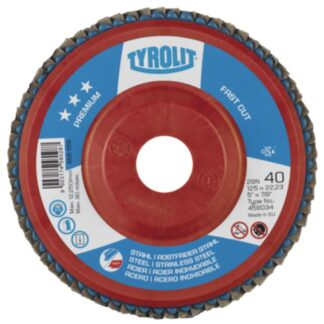 "Tyrolit 458031 5"" Flap Disc Wheel"