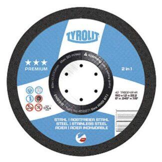 """Tyrolit 458874 5"""" Cutoff Wheel"""