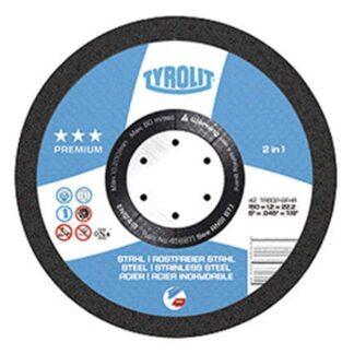 """Tyrolit 458876 6"""" Cutoff Wheel"""