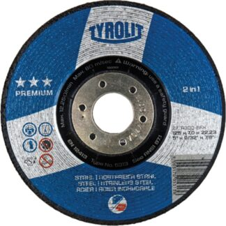 "Tyrolit 5293 4-1/2"" Grinding Wheel"
